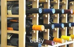 108-180 Bottle Wine Rack Cellar Storage Designer Collection Display Cabinet Case