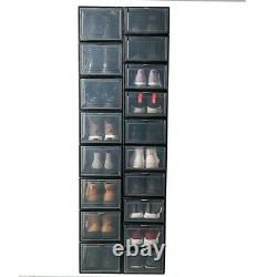 1/5/10 Sneaker Collection Modern Display Case Shoe Compartment Storage Organiser