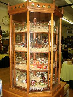 ANTIQUE CANDY DISPLAY CASE. From Old Country Store Horse Creek, WI. RARE