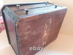 ANTIQUE Vintage Thread Spool Cabinet Drawer Wood Mercantile Store Display