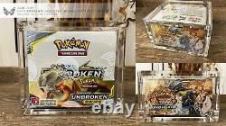 ARK-10M Pokemon Booster Box Acrylic Storage Display Case WoTC/Modern Ultra Clear