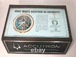 Accutron Bulova Store Display 1960's With Battery Tester and Case Wrench 218 214