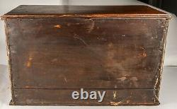 Antique 1890's Six Drawer Store Cabinet, Super Nice