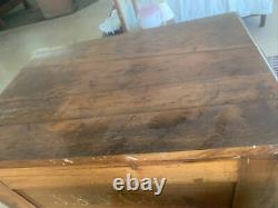Antique 6-drawer Spool Cabinet J. S. P. Coats country store cabinet