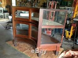 Antique Display Case Counter Cabinet, Store Counter Showcase, Mercantile Cabinet