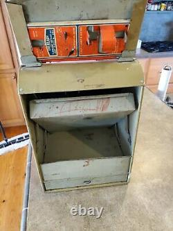 Antique Eveready Flashlight Battery & Bulb Store Display Case