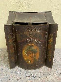 Antique General Store Dry Goods Display-Tea Coffee