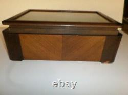 Antique HICKOK JEWELRY COUNTER TOP STORE DISPLAY CASE with Two (2) Drawers