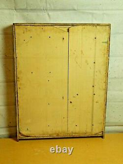 Antique Pocket watch hangin display case cabinet from Jewelry store Vintage