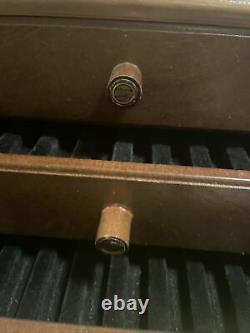 Antique Vintage Parker Duofold Fountain Pen Store Display Case Original Rare