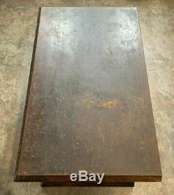 Antique Willimantic Thread Spool Cotton Store Counter 4 Drawer Display Cabinet