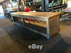 Antique store counter, General Store Counter, Mercantile Sales Counter