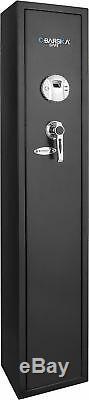 Barska 4 Rifle Gun Safe Security Storage Biometric Fingerprint Quick Access