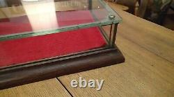 Circa 1890's country or general store oak display case showcase