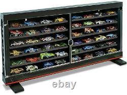 Classic Display Case Storage Organizer 50 Hot Wheels Toy Car Stand Alone Rack