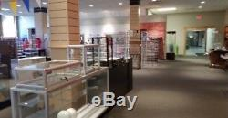 Countertop Glass Showcase Retail Store Merchandise Display 24Wx12Dx18H NEW