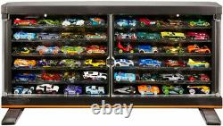Custom LED Hot Wheels Premium Car Collector Display Case Gift Toy Storage