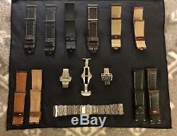 Dealer Only Oem Panerai Strap Display Storage Case/box. Includes All Items Shown