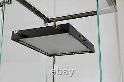 Free stand Rectangular Display Showcase Store Fixture Assembled WithLights