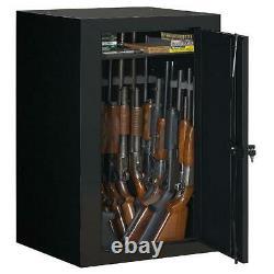 Fully Convertible Steel Gun Security Cabinet Locker Storage Rifle Safe 22-Gun