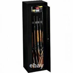 GUN SAFE CABINET Firearm 10 Rifles Security Storage Locker Shelf Shotgun Pistol