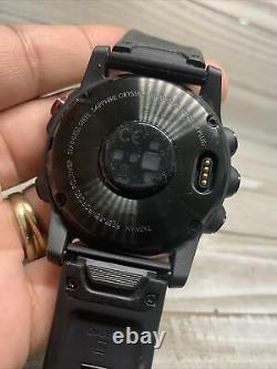 Garmin Fenix (Hollow Shell Store Display) Watch 5X Plus 51mm Black Case With Strap