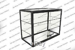 Glass Countertop Display Case Store Fixture Showcase with Front Lock #1T3O0P1