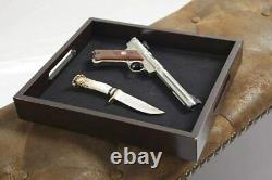 Gun Concealment Bench Cabinet 6 Rifles Storage Shotgun Firearm Safe Lock Rack