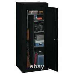 Gun Safe Cabinet 18 Rifle Security Storage Locker Shelf Shotgun Pistol Home