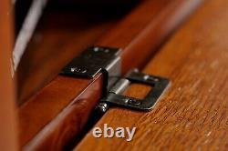 Gun Safe Cabinet 8 Rifles Solid Wood Storage Locker Shotgun Lock Shelf Case Rack