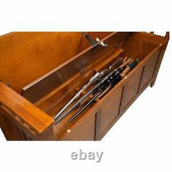Gun Storage Bench
