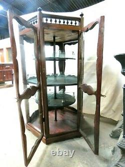 Hexagon revolving Candy Cabinet by Simmons, General / Country Store, Showcase