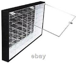 Hot Wheels 1/64 Scale Display Case Storage Wall Mount Rack for 56 Hot Wheels