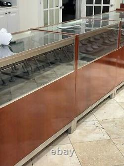Jewelry store showcases and displays