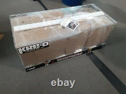 KRE-O Toys R us 40 Transformers Bumblebee Optimus Prime Store Display Case New