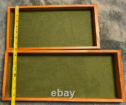 Knife Storage Display Case Cabinet 7 Drawer