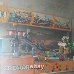 LEGO Creator 3 in 1 Pirate Roller Coaster Store Display Cabinet Case 31084