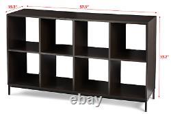LP Vinyl Record Storage Cabinet Album Display Rack Shelving Book Case Cube Craft