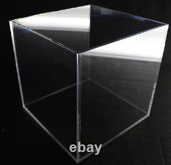 Large Acrylic Display Box Collectible Display Case Clear Store Display 15x15x15