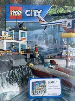 Lego City Coast Guard Model E321427 Store Display Case