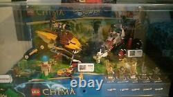 Lego Legends of CHIMA Store Display Case 70003 70004 70005 70006 Laval Waks