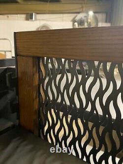 Metal Wood 32.5 x 25 Store Grocery Store Walk Around Display Merchandiser