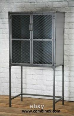 Modern industrial apothecary, Medicine Cabinet, Storage cabinet, Display case