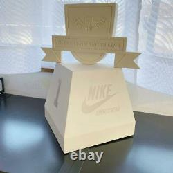 NIKE display interior sneakers shop store accessory case