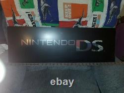 Nintendo DS Plexiglass Game Case Store Display Promo Sign