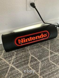 Nintendo Original Lighted Store Sign For Display Case Kiosk NES SNES