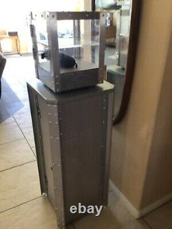 Oakley Rare X Metal Set The Small Display Case & Matching Storage Cabinet