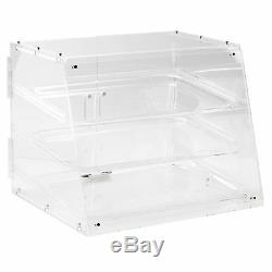 PASTRY SELF SERVE DISPLAY CASE 3 TRAY BAKERY DELI STORE CANDY DONUT + $10 Rebate