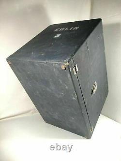 Pachmayr Gun Works Super Deluxe Case 5 Pistol Display Storage Box w Key Made USA