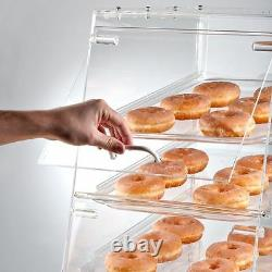 Pastry Self Serve Display Case 4 Tray Bakery Deli Convenience Store Candy Movie